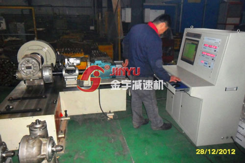 功率测试台检测减速机效率